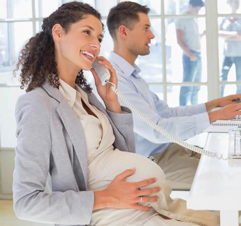 Pregnant Employee 62