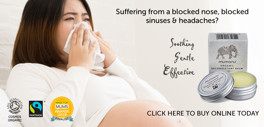 Stuffy Nose In Pregnancy - Decongestant Balm