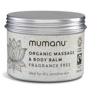 Mumanu Organic Fairtrade Massage Balm and Body Balm