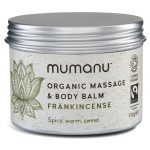 Organic Fairtrade Massage Oil Body Balm with Frankincense