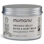 Mumanu Organic Fairtrade Belly Boob & Baby Balm