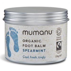 Mumanu Fairtrade Organic Foot Balm Organic Reflexology Balm