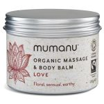 Organic Fairtrade Massage & Body Balm - Love - Ideal Pregnancy Massage Oil