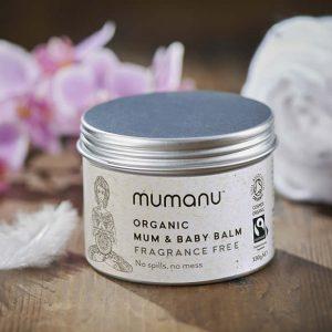 Mumanu Organic Mum & Baby Balm With Fairtrade Ingredients