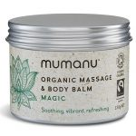 Organic Fairtrade beeswax Massage Balm & Body Balm - Magic - best prenatal massage oil