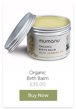 Mumanu Organic Birth Balm - Buy Now